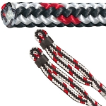 Arbor Master Multi Color Streak Climbing Line by Samson, 16-strand 14mm (1/2