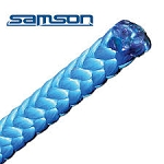 True Blue Climbing Line by Samson, 12-strand 14mm (1/2