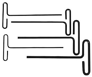 T-Handle Allen Wrench-Set # 42-480-0