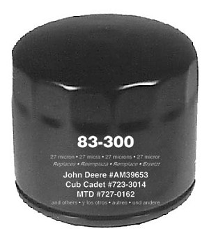 Replacement Transmission Oil Filter For Ariens # 31928