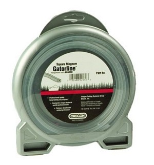 Oregon Magnum Gatorline Square Trimmer line .170' Gauge 1/2 Lbs Donut Package Footage 36'
