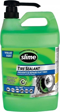 Slime Tire Sealant 1 Gallon Jug With Pump