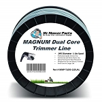 Mr Mower Parts Heavy-Duty Magnum Dual Core Square Trimmer Line .095 5LB Spool